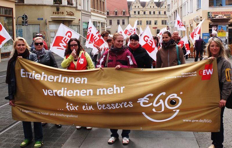 Gehrke: Druck zur Aufwertung der SuE-Berufe aufrechterhalten!