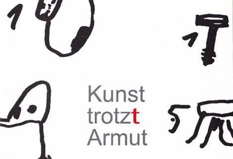 GEW Rosenheim besucht die Ausstellung Kunst trotz(t) Armut
